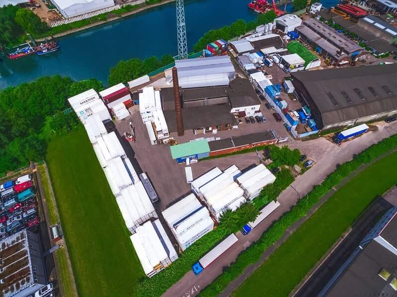 Depot reefer container storage facility hamburg port for Depot hamburg