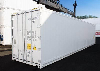 Reefer Container 40 HC Carrier Innen