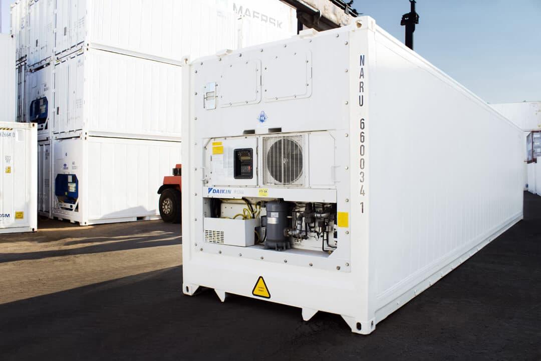 Kühlcontainer kaufen - MT Container GmbH Hamburg