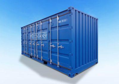Open-Side-Door-Container-20ft-Fuß-neu