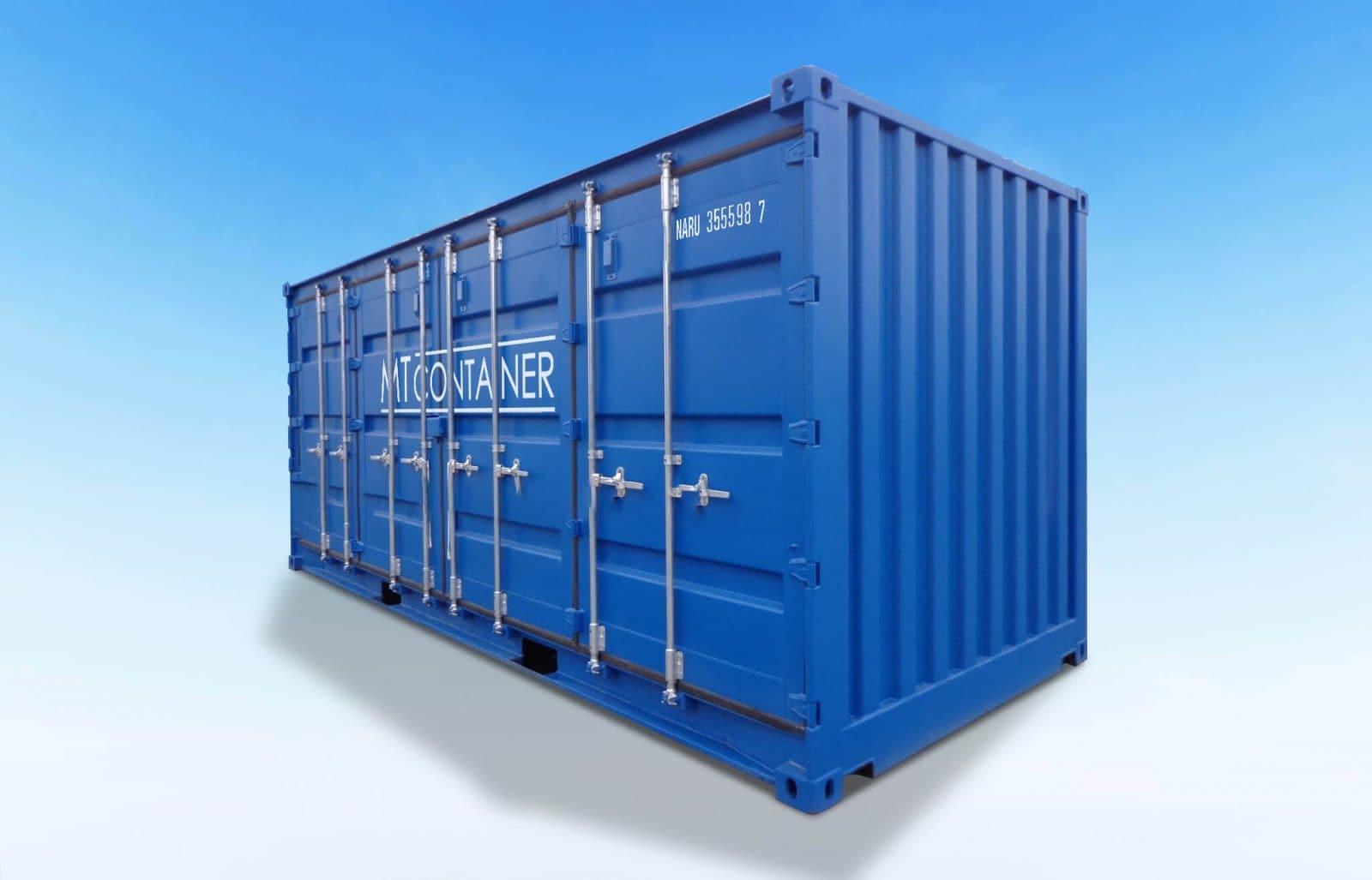 Open Side Door Container - MT Container GmbH Hamburg
